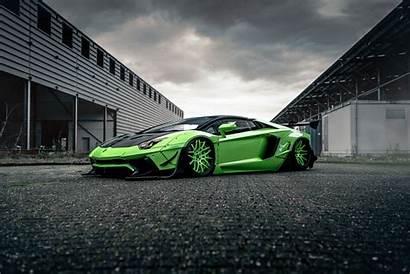 Liberty Walk Lamborghini 4k Garage Cars Wallpaperaccess