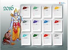 33 Free 2016 Desktop Calendars