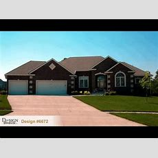 Design #6672 The Bayberry Traditional Styled 1story House