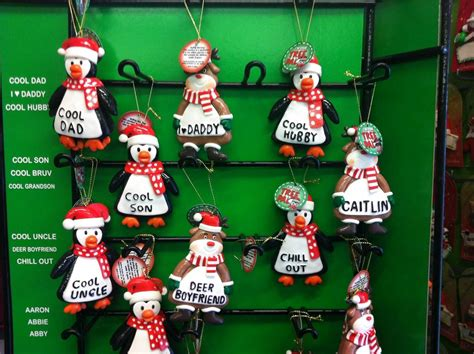 brand  personalised christmas decoration tree pals