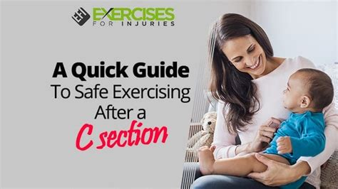 Foods To Avoid After Ac Section by A Guide To Safe Exercising After A C Section