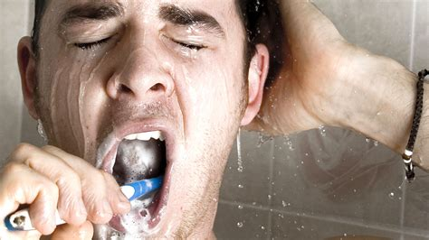 My In The Shower by Brushing Your Teeth In The Shower Is Not The Best 9coach