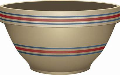 Bowl Clipart Clip Empty Mixing Dish Cream