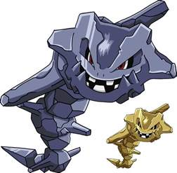 Shiny Mega Pokemon Steelix