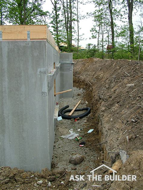 Backfilling a Foundation Wall   Ask the Builder