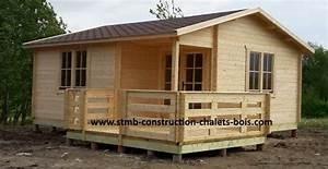 Chalet En Bois Habitable 20m2 : vente de chalet bois en kit stmb construction chalets bois ~ Dailycaller-alerts.com Idées de Décoration