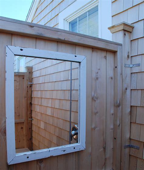 Outdoor Shower Company - outdoor shower enclosure cedar showers kits outdoor