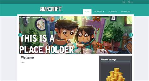 buycraft templates free download beta ultimate ninja buycraft template 1 4