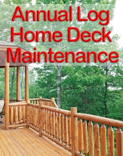 1000+ Images About Log Home Maintenance On Pinterest