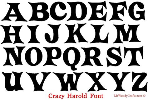 lettering fonts free 12 unfinished wooden letters 5 different fonts 92962