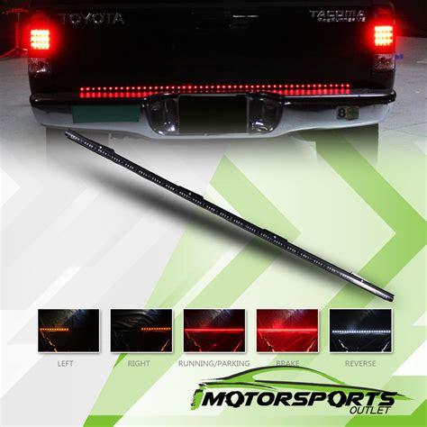 light strips for trucks 60 quot long 5 functions led rear brake truck tailgate light