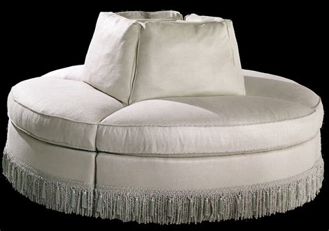 round loveseat with ottoman round settee represents a symbol of minimalist style for