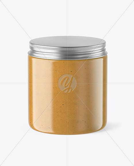 This fully layered psd file allows you to show off your design. Plastic Jar with Peanut Butter Mockup in Jar Mockups on ...