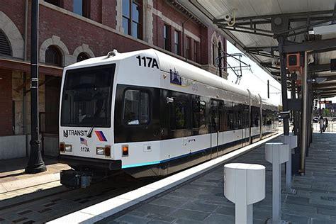 nj transit light rail two struck by nj transit light rail trains