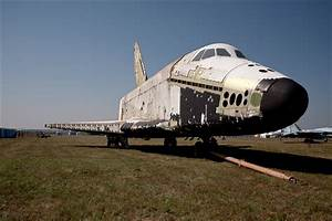 Soviet Space Shuttle found abandoned in its metal ...