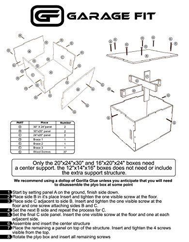 wood plyo box   plyometrics box
