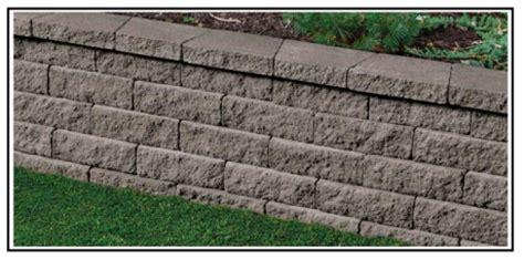 mattoni in cemento per giardino un nuovo modulo per un muro a secco per giardino