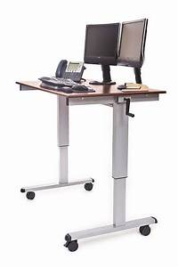 Luxor Manual Adjustable Height Desk Review