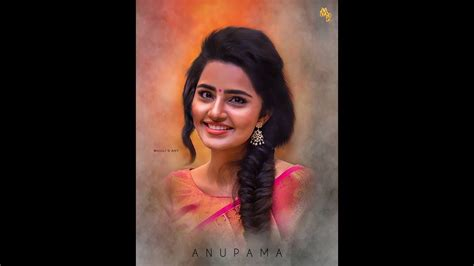 anupama Digital Art Photoshop Tutorial Youtube