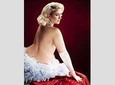Steps' Claire Richards emulates 50s siren Jayne Mansfield