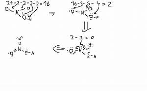 How Is The Lewis Dot Structure For Hno3 Determined