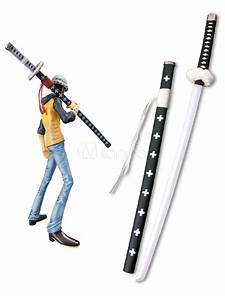 One Piece Trafalgar Law White Sword Cosplay Weapon ...