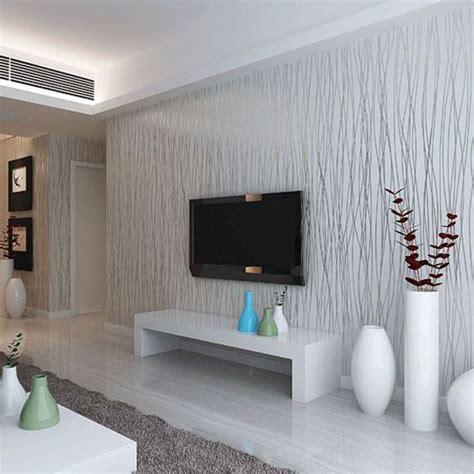 fashion   woven flocking vertical stripe wallpaper