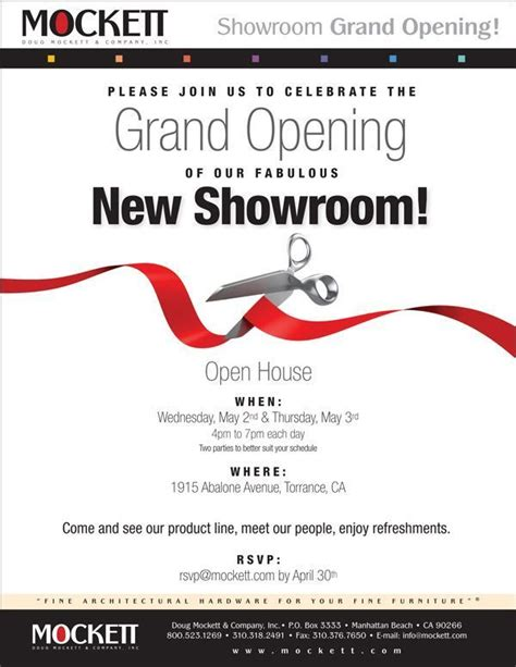 showroom inauguration invitation showroom inauguration