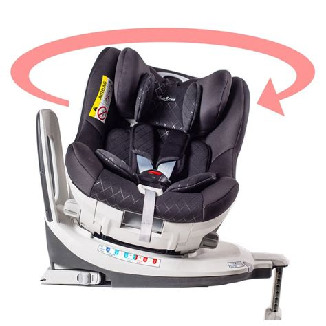 siege auto isofix groupe 1 2 3 inclinable siège auto pivotant 360 39 the one 39 noir isofix groupe 0