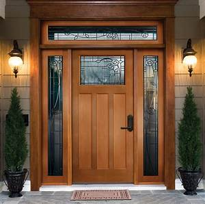 Exterior wood door manufacturers marceladickcom for Exterior door brands