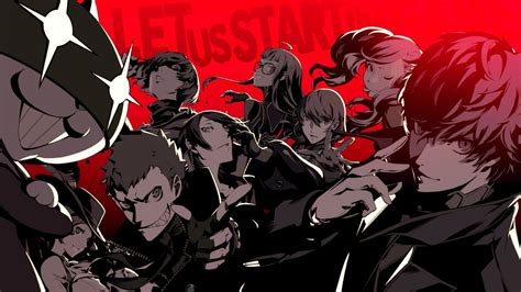 Persona 5 Animated Wallpaper - an extended analysis of persona 5 the otakucrat