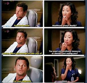 """""""Use your judgement. Hmmm"""" 