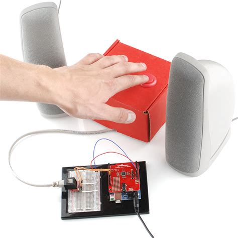 musical instrument shield retail rtl 10780 sparkfun electronics
