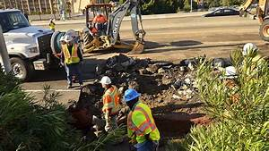 2 Lanes of I-8 East Opened in Wake of Burst Pipe in ...