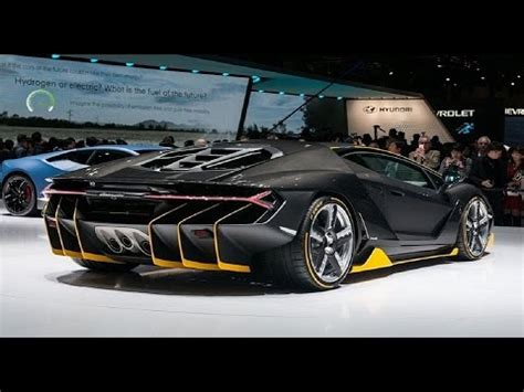Best Cars From The 2016 Geneva Motor Show  2017 New Car