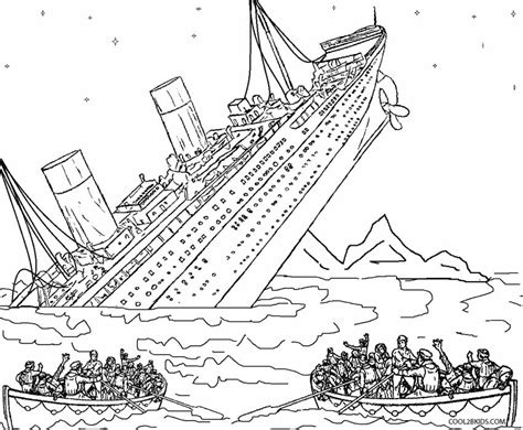 printable titanic coloring pages for cool2bkids