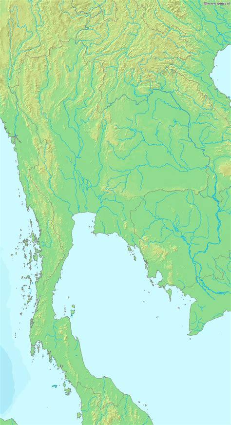 Thailande Carte Geographique Monde by Carte G 233 Ographique Tha 239 Lande Carte G 233 Ographique De Tha 239 Lande
