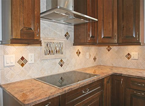 Kitchen Island Granite - kitchen tile backsplash remodeling fairfax burke manassas va design ideas pictures photos