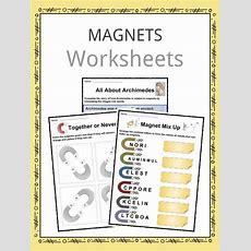 Magnet Facts, Worksheets & Information For Kids