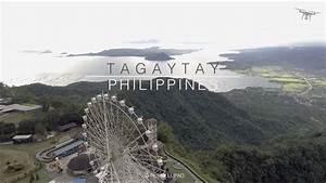 Tagaytay Aerial View 4k