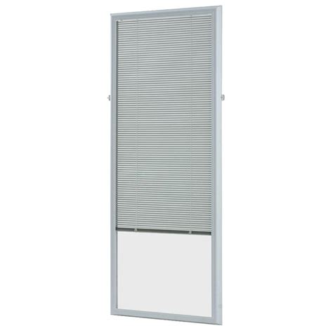 odl add on blinds odl white cordless add on enclosed aluminum blinds with 1