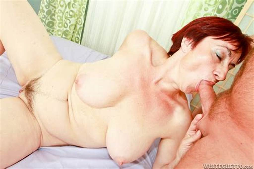 #Short #Haired #Redhead #Granny #Is #Banged #In #The #Pussy