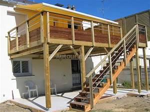 plan terrasse sur pilotis 7 faire une terrasse en bois With comment faire une terrasse bois sur pilotis