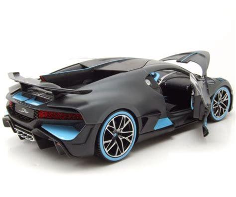 Bburago, bugatti, escala 1 en 18. Bburago Plus - модел на кола 1:18 - Bugatti Divo   КОМСЕД