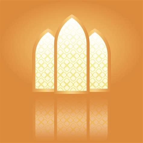 golden ramadan kareem greeting card