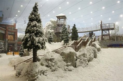 snow park  ski dubai thinkwell