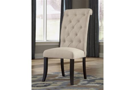 tripton dining side chairs in linen set of 2 by 174