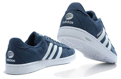 Big Sale Adidas Camp Neo Canvas Shoes Men Deep-blue White