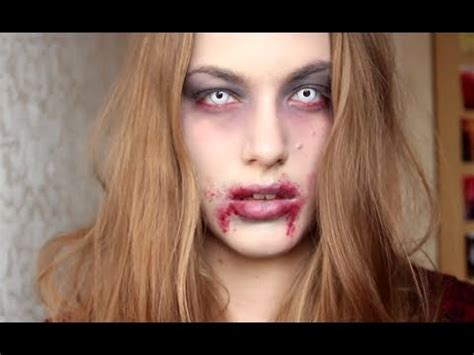 halloween zombie makeup tutorial youtube