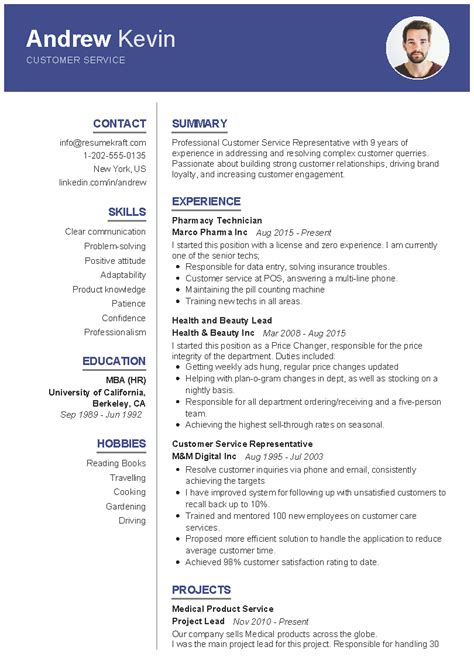 customer service resume sample   resumekraft